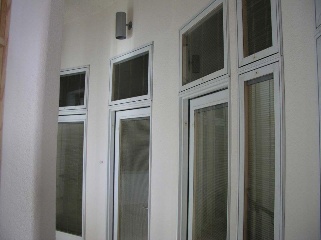 REPEATED LOFT DOOR/WINDOW