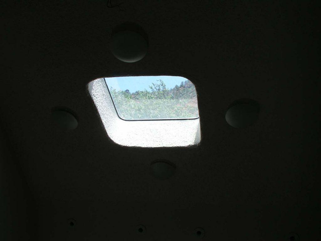 OPERABLE MARINE WINDOW IN BEDROOM