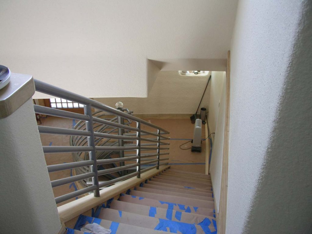 STAIRS FROM 3RD TO 2ND FLOOR
